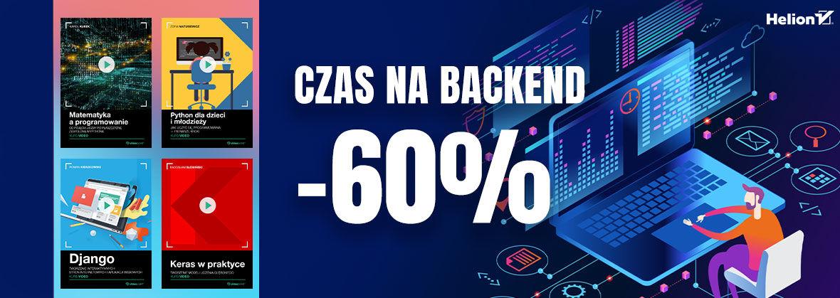 Promocja Promocja na ebooki Czas na backend!