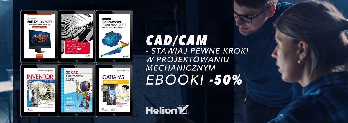 Promocja na ebooki Stawiaj pewne kroki w  projektowaniu mechanicznym [Ebooki -50%]