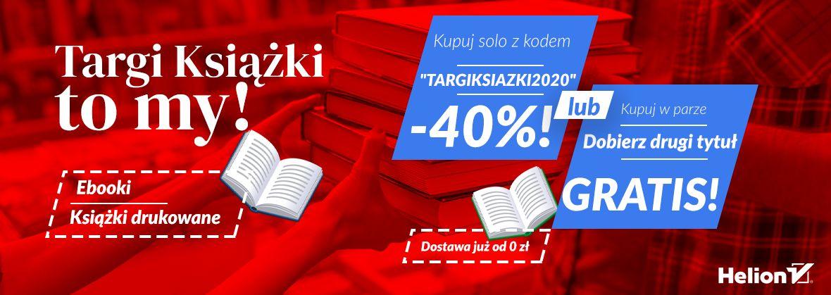 Targi Książki to my - wybierz swój rabat! [-40% lub 2 za 1]