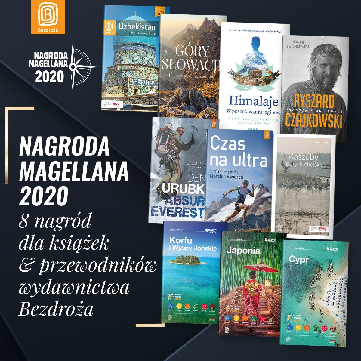Galeria Nagrody Magellana 2020 Bezdroża zdobywają aż 8 nagród