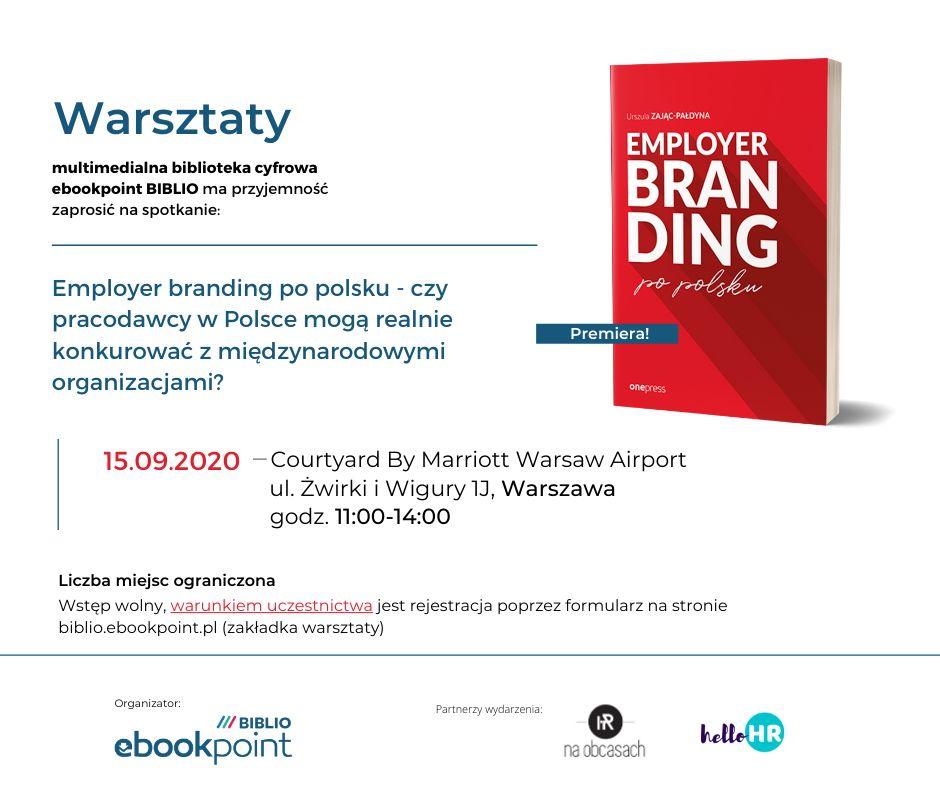 Warsztaty 15.09.2020 Warszawa