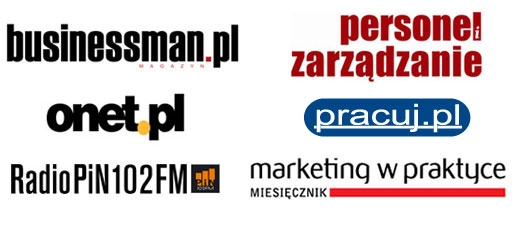 Businessman, Personel i Zarządzanie, onet.pl, Marketing w Prakrtce, Radio PIN