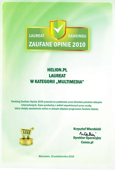 Zaufane Opinie dla helion.pl