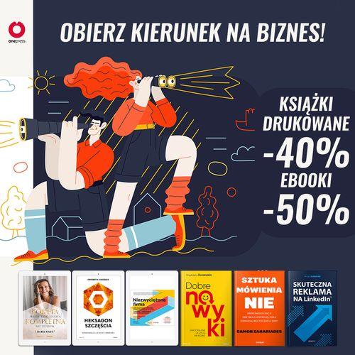 🧭 Kierunek na biznes [książki drukowane -40% ebooki -50%]