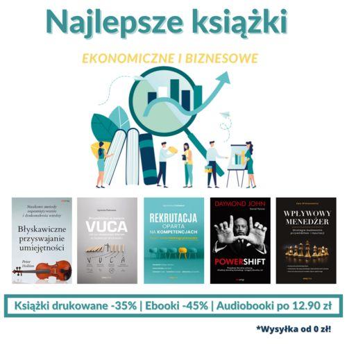 💸 📕 Najlepsze książki ekonomiczne i biznesowe!