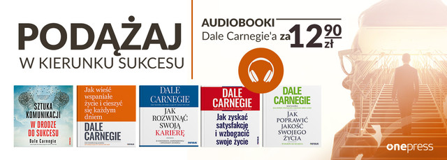 Prosto do sukcesu | Audiobooki Dale Carnegie'a po 12.90