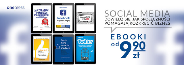 Social Media   Facebook ~EBOOKI od 9.90 zł