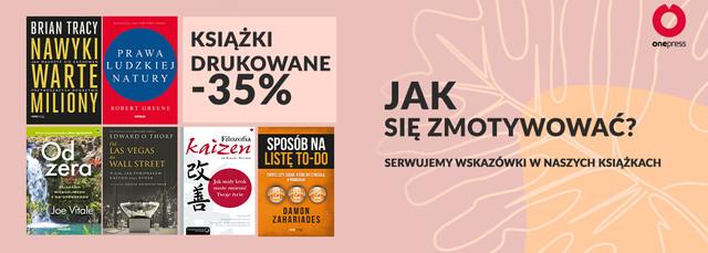 Jeśli brakuje Ci motywacji ~ Książki drukowane[-35%]