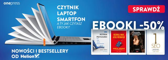 Ebooki od Wydawnictwa 💻 HELION | NOWOŚCI I BESTSELLERY