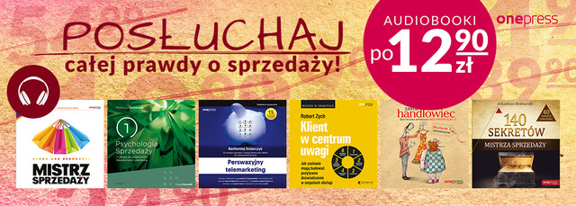 Cała prawda o sprzedaży | Audiobooki po 12.90 zł!