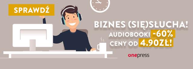 Audiobooki dla biznesu [-60%]