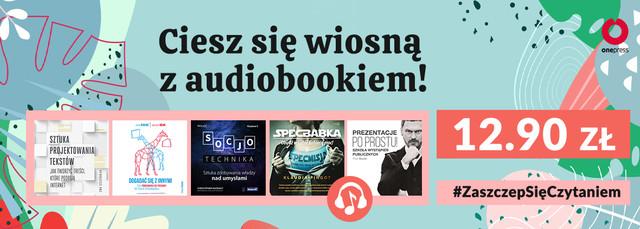 Audiobooki po 12.90!