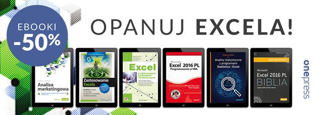 Naucz się Excela i zarabiaj więcej! | Ebooki -50%