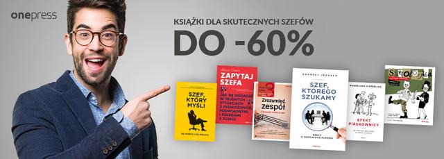 Książki dla skutecznych szefów! [do-60%]