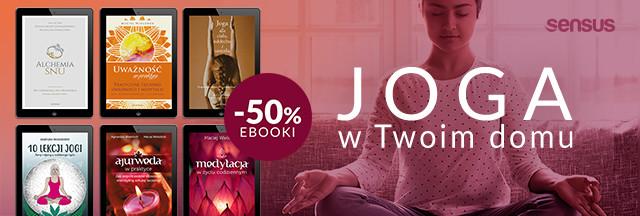 Joga w Twoim domu ~ Ebooki - 50%