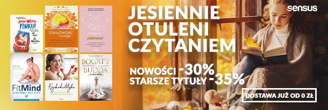 Jesiennie otuleni lekturą [Książki drukowane od -30% do -35%]
