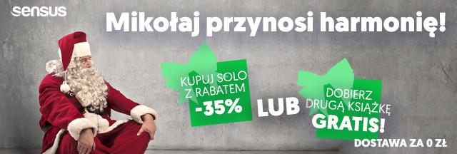Mikołaj ~ -35% lub druga książka GRATIS!