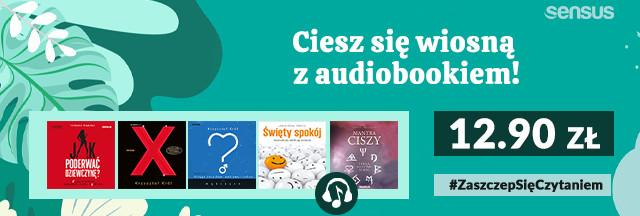 Wszystkie Audiobooki Grupy Helion po 12.90!