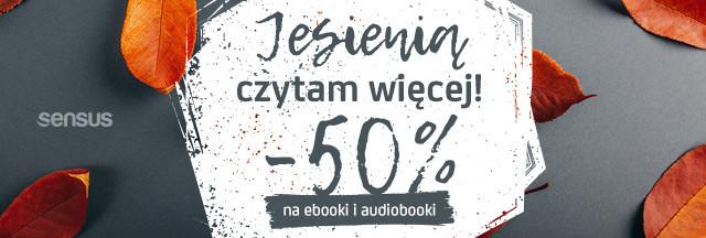 promocja, -50%, ebooki, rabat, książki, audiobooki