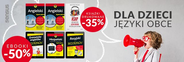 Języki obce [Ebooki -50% | Druki -35%]