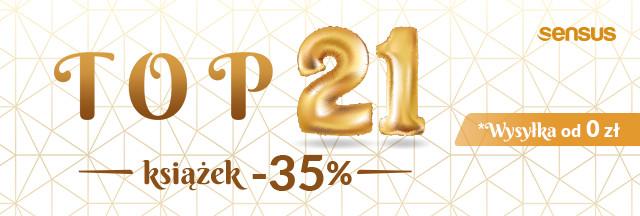 [-35%] TOP 21 Książek