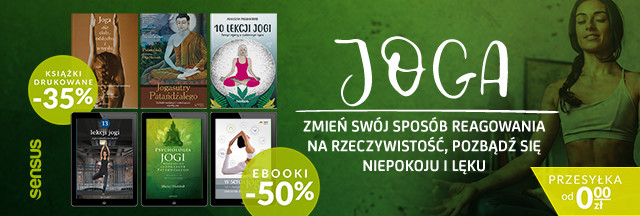 Joga ~ trening ciała i duszy [Książki drukowane -35% | Ebooki -50%]