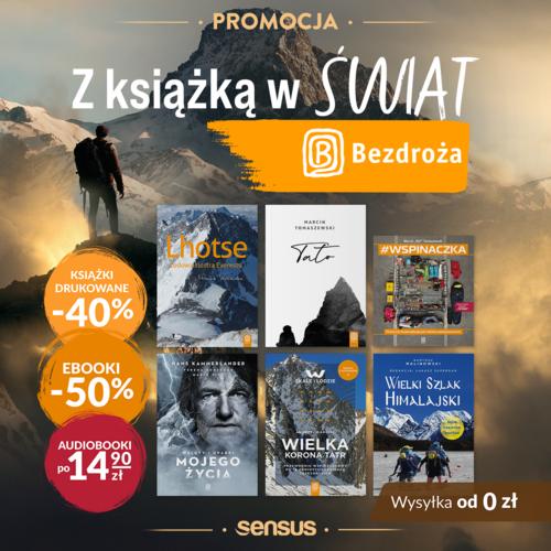 Podróżnicze tytuły od Wydawnictwo Bezdroża Z KSIĄŻKĄ W ŚWIAT!