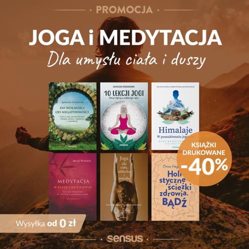 Joga i medytacja druk -40% | wysyłka od 0 zł