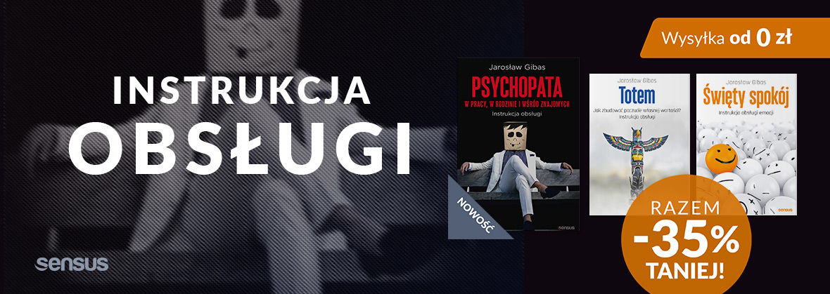 Promocja na ebooki [PAKIET -35%] Książki Jarosława Gibasa + NOWOŚĆ