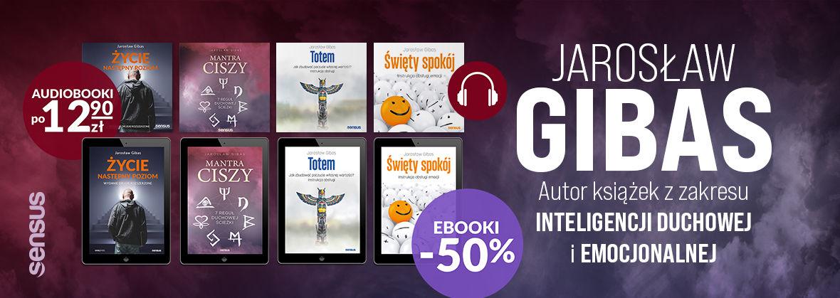 Promocja na ebooki Jarosław Gibas ~ Zabierz na spacer ebooka lub audiobooka!