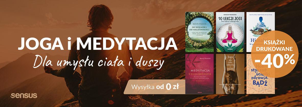 Promocja na ebooki Joga i medytacja druk -40% | wysyłka od 0 zł