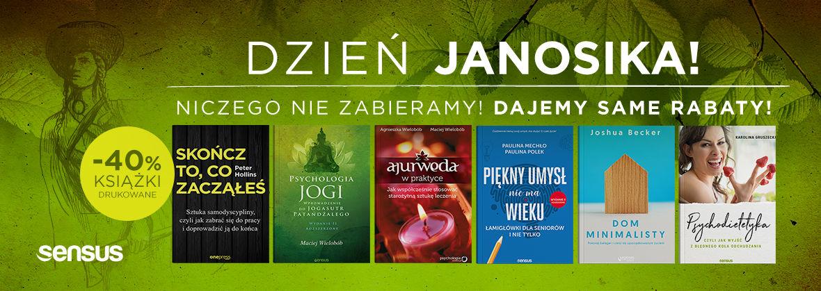 Promocja na ebooki Dzień Janosika! -40% na książki drukowane!
