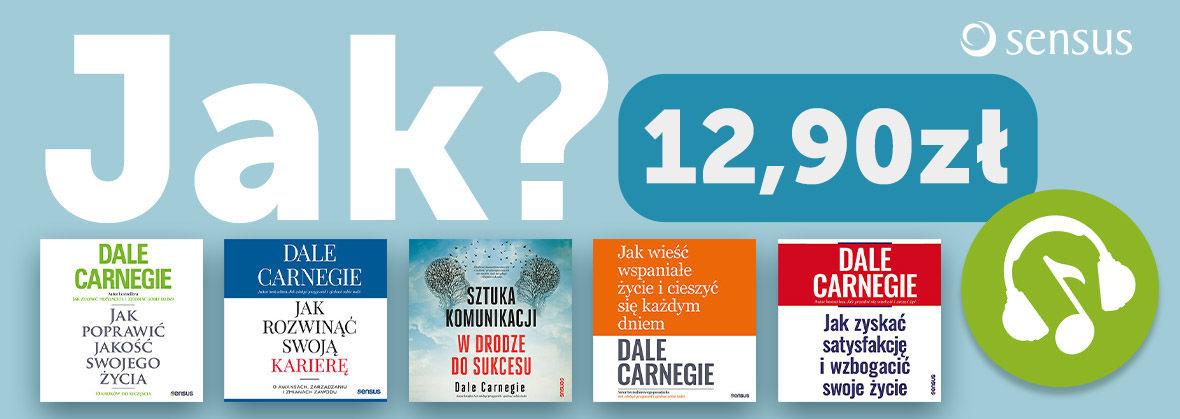 Promocja na ebooki Dale Carnegie ~Audiobooki po 12.90 zł