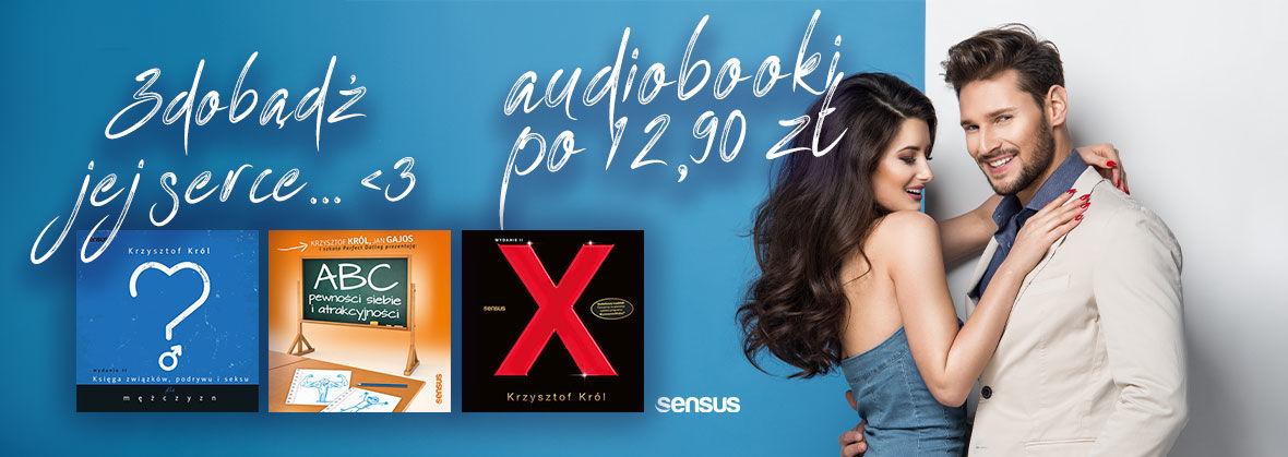 Promocja na ebooki Krzysztof Król ~ Audiobooki po 12.90 zł