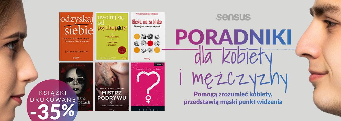 Promocja na ebooki [Poradniki -35%] Pomogą zrozumieć kobiety ~ Przedstawią męski punkt widzenia