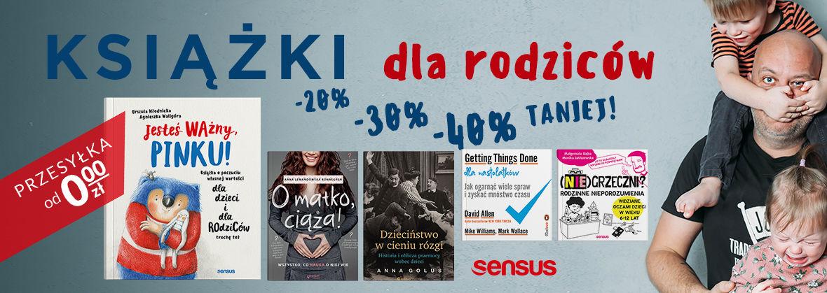 Promocja na ebooki Książki dla Rodziców nawet 40% TANIEJ!