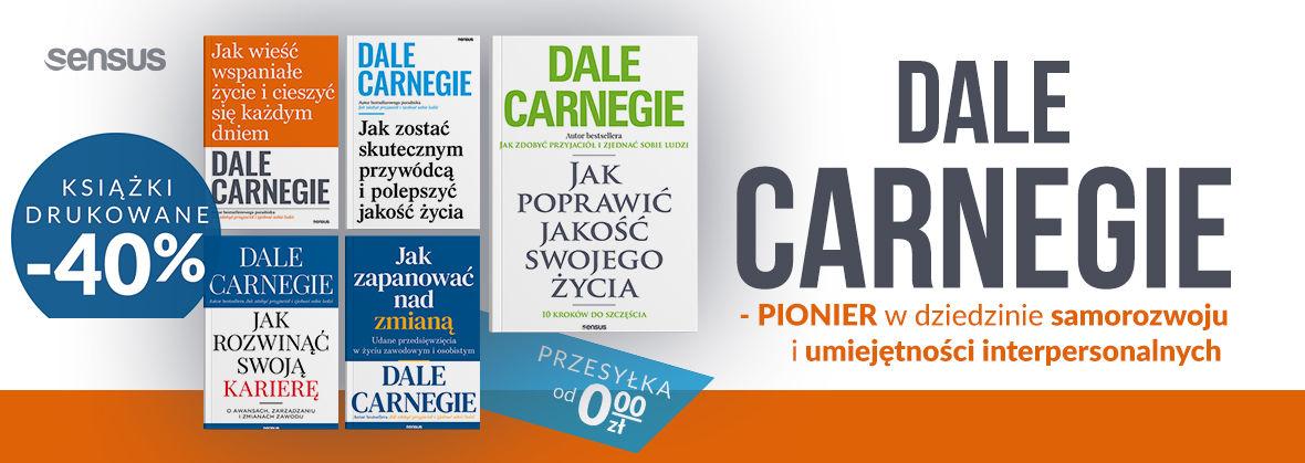 Promocja na ebooki Dale Carnegie | Książki drukowane 40% TANIEJ!