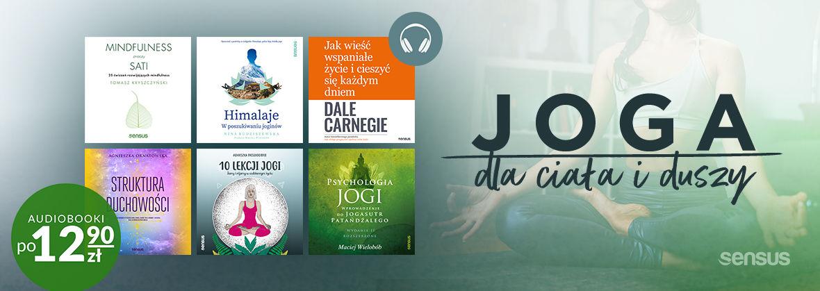 Promocja na ebooki Joga ~ Wsłuchaj się w audiobooki