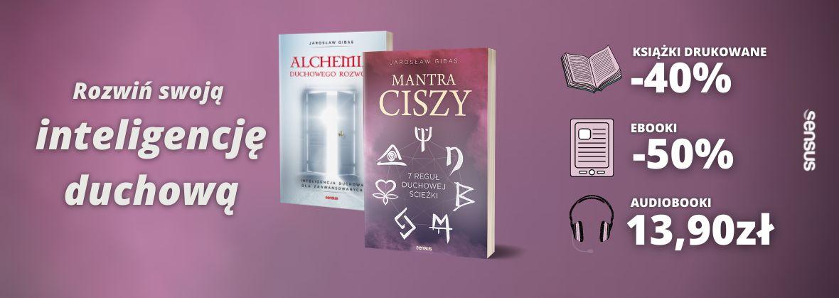 Promocja na ebooki Rozwiń swoją inteligencję duchową!
