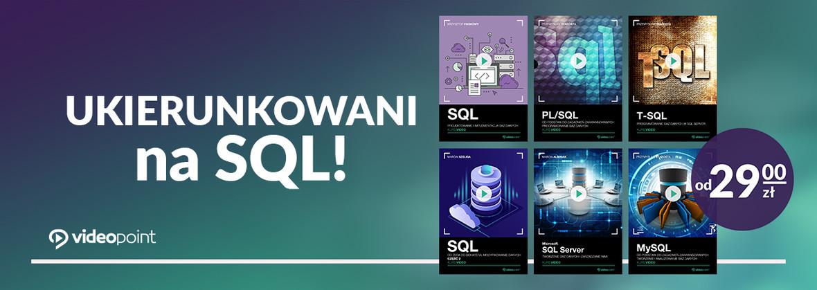 Ukierunkowani na SQL!