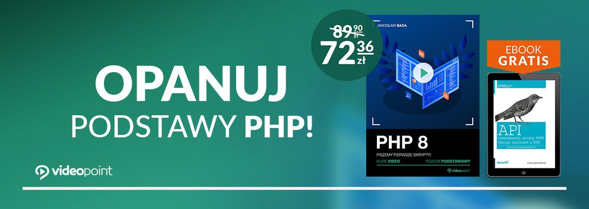 Opanuj podstawy PHP i zacznij pisać pierwsze skrypty!