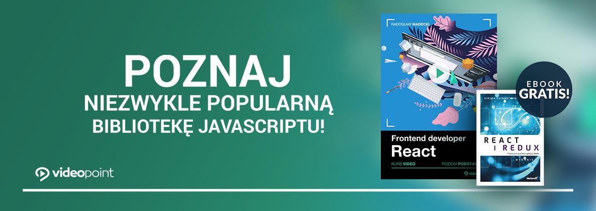 Poznaj niezwykle popularną bibliotekę JavaSciptu!