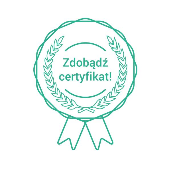 Zdobądź certyfikat